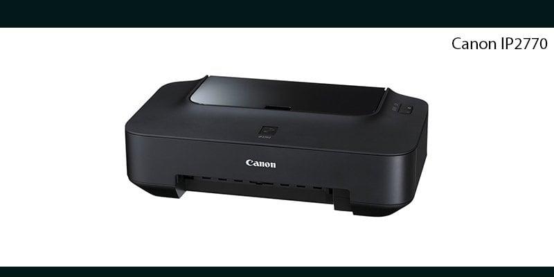 download driver instal printer canon ip 2770