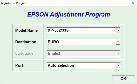 Epson Xp 332 332a 335 Resetter