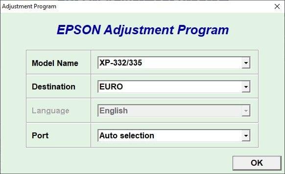 Epson Xp 332 332a 335 Resetter