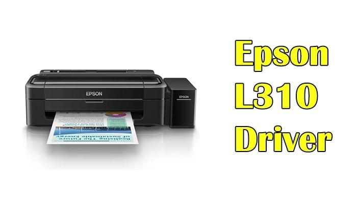 Epson L3110 Printer Scanner Driver